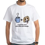 Coffee and a beagle Shirt