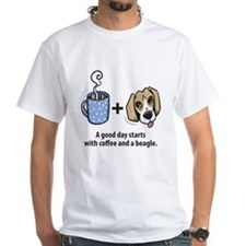 Coffee and a beagle Shirt