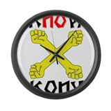 KNOW KONY Large Wall Clock