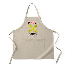 KNOW KONY Apron