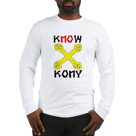 KNOW KONY Long Sleeve T-Shirt
