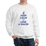 Keep Calm and Love A Sailor Jumper