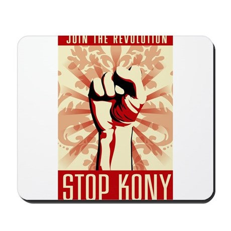 STOP KONY Mousepad