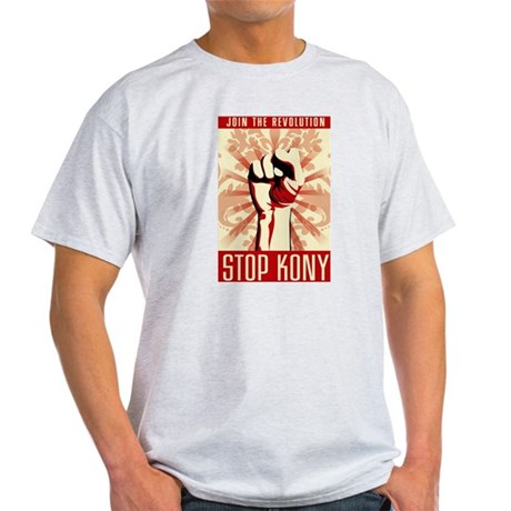STOP KONY Light T-Shirt