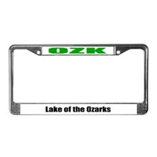 Lake of the Ozarks License Plate Frame OZK