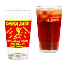 China - ASSets Drinking Glass
