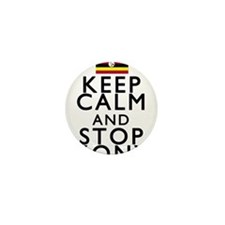 Stay Calm and Stop Kony Mini Button
