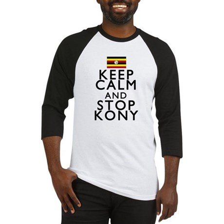 Stay Calm and Stop Kony Baseball Jersey