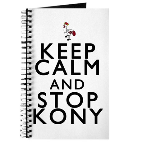 Keep Calm and Stop Kony Journal