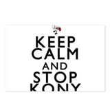 Keep Calm and Stop Kony Postcards (Package of 8)