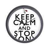 Keep Calm and Stop Kony Wall Clock