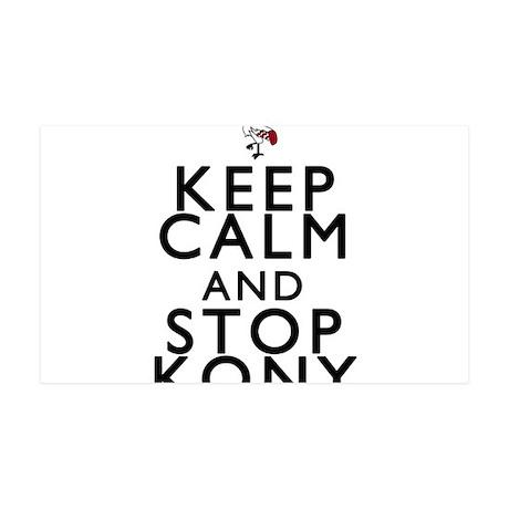 Keep Calm and Stop Kony 38.5 x 24.5 Wall Peel