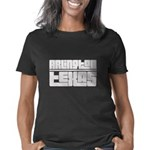 American national tie Women's Fitted T-Shirt (dark