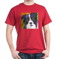 Cute Border collie dog T-Shirt