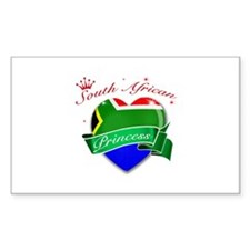 South African Princess Decal
