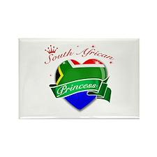 South African Princess Rectangle Magnet