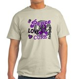 Peace Love Cure 2 Epilepsy T-Shirt