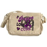 Peace Love Cure 2 Epilepsy Messenger Bag
