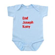 End Joseph Kony Infant Bodysuit