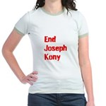 End Joseph Kony Jr. Ringer T-Shirt
