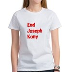 End Joseph Kony Women's T-Shirt