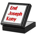 End Joseph Kony Keepsake Box