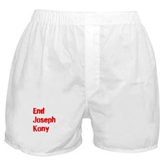 End Joseph Kony Boxer Shorts