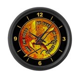 Hunger Games Grunge Large Wall Clock