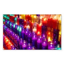 Candle Sticker (Rectangle 10 pk)
