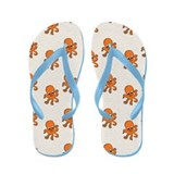 Little Octopus Flip Flops