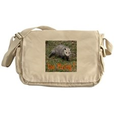 Playing Possum Messenger Bag