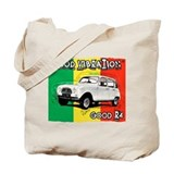 Renault 4 Rasta Tote Bag