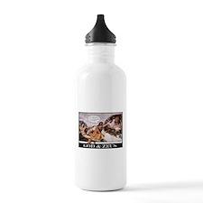 """""""God & Zeus"""" Water Bottle"""