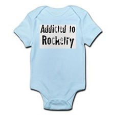 Addicted to Rocketry Infant Creeper