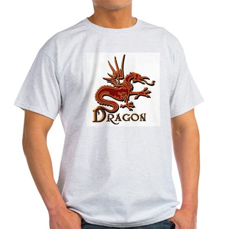 Fire Red Dragon Light T-Shirt