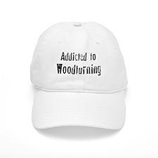 Addicted to Woodturning Baseball Cap