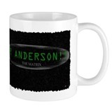 mr anderson the matrix Small Mug