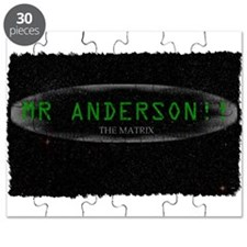 mr anderson the matrix Puzzle