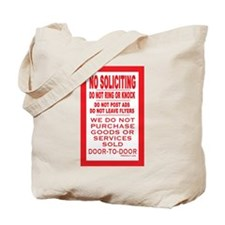 Cute Soliciting Tote Bag