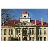 Facade of a courthouse, Blanco County Courthouse,