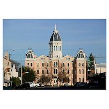 Facade of a courthouse, Presidio County Courthouse
