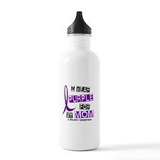 I Wear Purple 37 Epilepsy Water Bottle