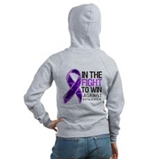 In The Fight Epilepsy Zip Hoodie