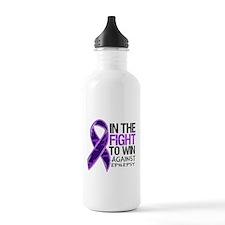 In The Fight Epilepsy Water Bottle