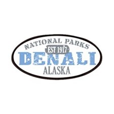 Denali National Park Alaska Patches