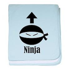 Self Ninja baby blanket