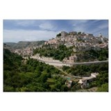 City on a hill, Ragusa, Sicily, Italy