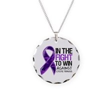 In The Fight Cystic Fibrosis Necklace