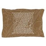 Celtic Letter Z Pillow Case