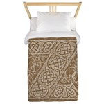 Celtic Letter Z Twin Duvet Cover
